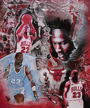 Michael Jordan by Reuben Cheatem