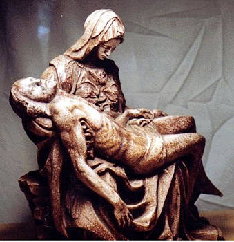 Michelangelo's Pieta by Patrick RANKIN