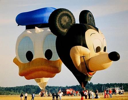 Mickey and Donald I by Christina A Pacillo