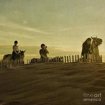 Midsummer Evening Horse Ride by Paul Grand