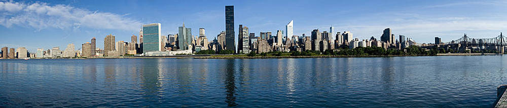Midtown Manhattan Across East River Crop2 by Val Black Russian Tourchin