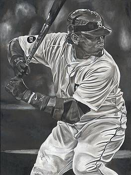Miguel Cabrera by David Courson
