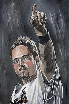 Mike Piazza by David Courson