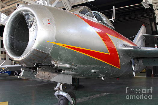 Wingsdomain Art and Photography - Mikoyan Guryevich MiG-15bis Fighter Plane 7D11179