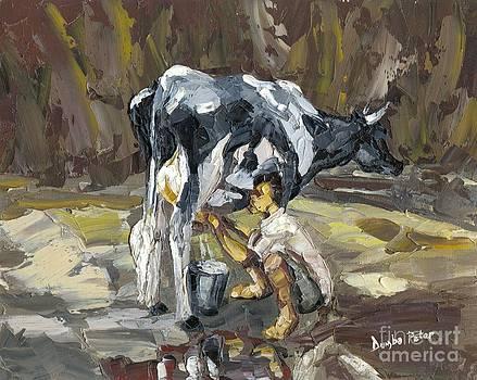 Milking by Dumba Peter