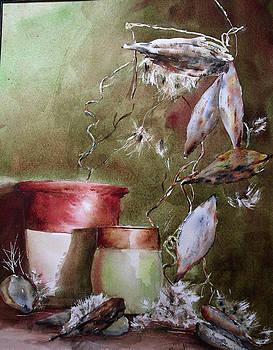 Milkweed pots by David Ignaszewski
