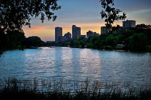 Milwaukee Cityscape by Jennifer Brindley
