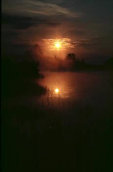 Misty Sunrise by Dick Todd