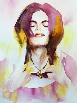 MJ pendant by Hitomi Osanai