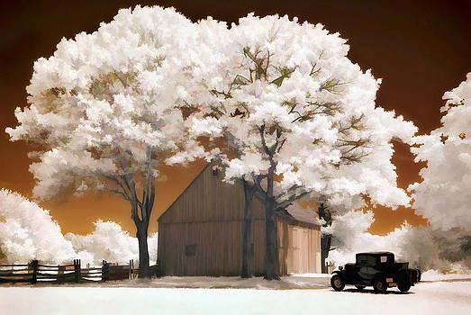 Steve Zimic - Model A and old barn