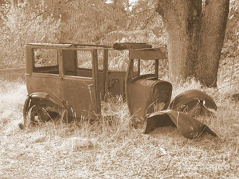 Mary Deal - Model A in Sepia