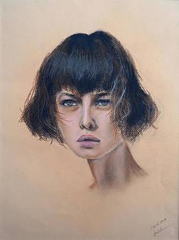 Model by Tinatini Popiashvili