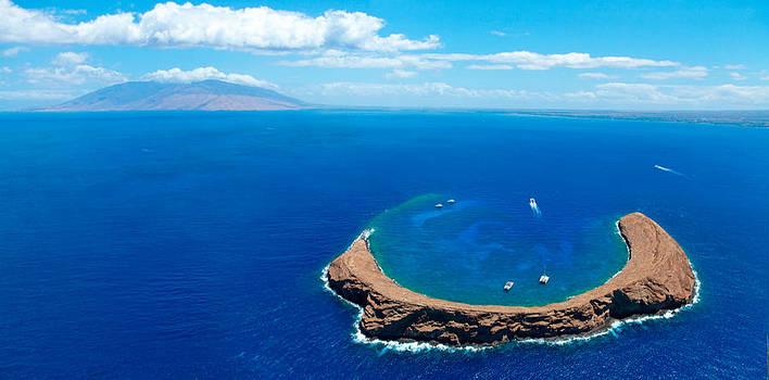 Molokini Maui by Monica and Michael Sweet