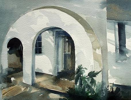 Mombasa Archway by Stephanie Aarons