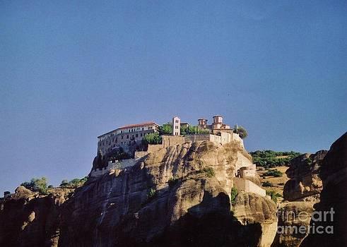 John Malone - Monastery at Meteora Greece