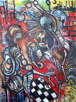 Jon Baldwin  Art - Monotony