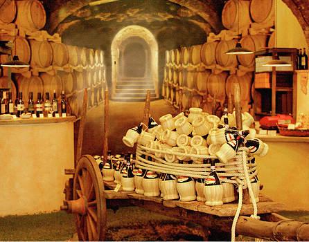 Montalcino Wine Shop by Vicki Hone Smith
