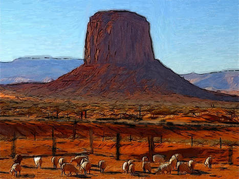 Stefan Kuhn - Monument Valley 2 Pastel