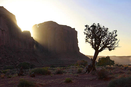 Mike McGlothlen - Monument Valley at Sunset