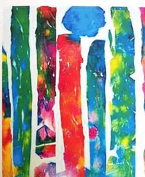 Moon Forest by Tonya Mower Zitman