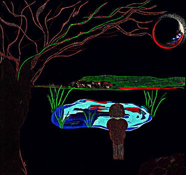Moon Glow by Jan Steadman-Jackson