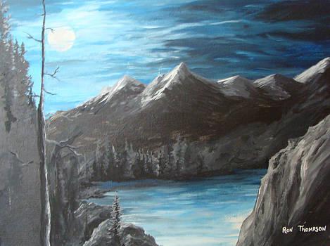 Moon Ridge Peaks by Ron Thompson