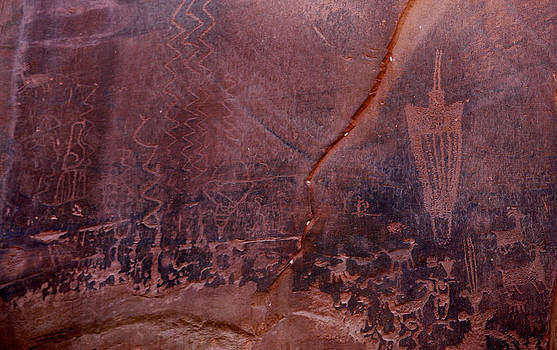 Marilyn Hunt - Moonflower Canyon Petroglyphs
