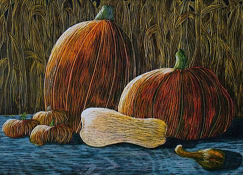 Moonlit Harvest by Annette Egan