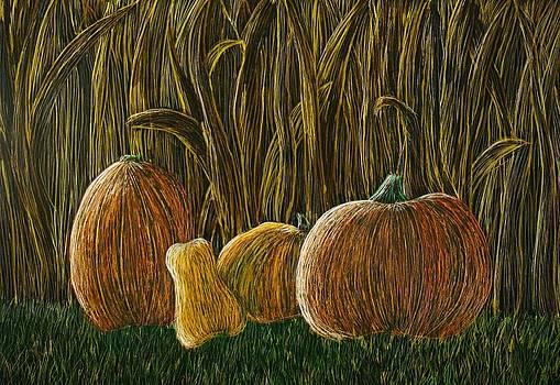 Moonlit Harvest II by Annette Egan