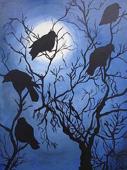 Moonlit Roost by Leslie Manley