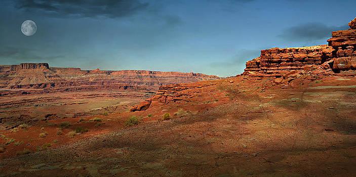 Marty Koch - Moonrise on the Mesa