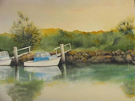 Morning at the Rocks by Carol McLagan