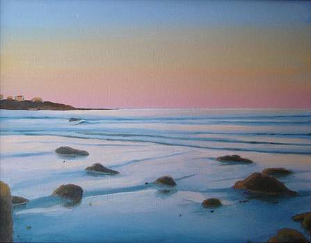 Morning low tide by Mark Haley