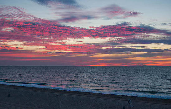 Morning Sunrise at the Beach by Karl Barth Photography
