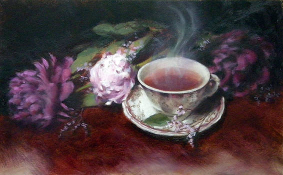 Morning Tea by Jill Brabant