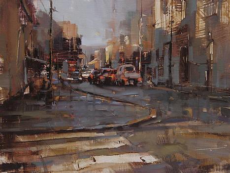 Morning Traffic by Tibor Nagy