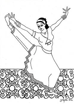 Moroccan Dancer by John Keaton