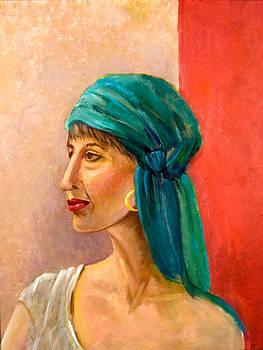 Moroccan Woman by Barbara Barry-Nishanian