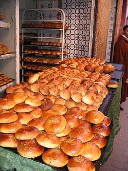 Yvonne Ayoub - Morocco Marrakesh Market Bakery