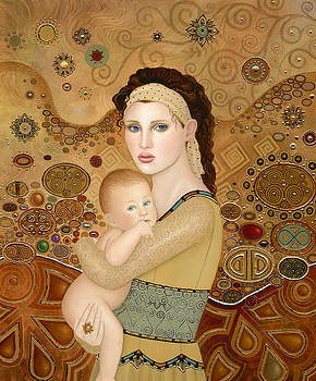 Mother and Child by B K Lusk