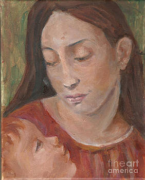 Mother and Child by Lyn Vic