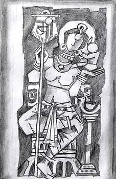 Mother Series 13 by Rajendra Bhatodra