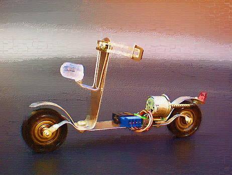 Motorbike #1 by Max Shkoropado