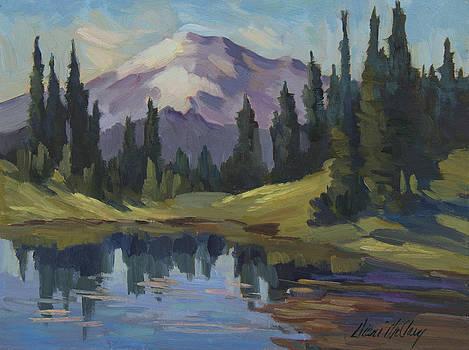 Diane McClary - Mount Rainier from Lake Tipsoo