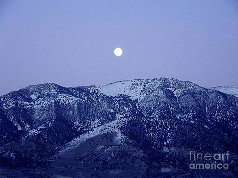 Mountain Moonrise by Woody Wilson