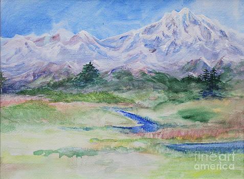 Mountain stream by Joan Putnam