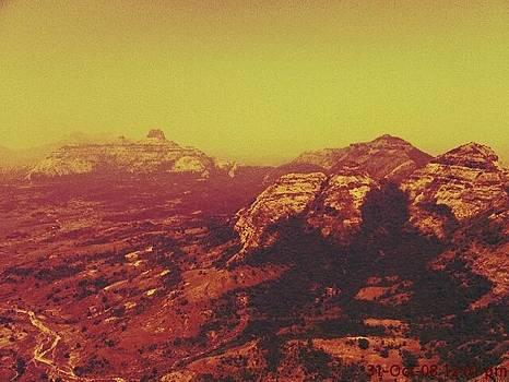 Mountain view by Prashant Upadhyay