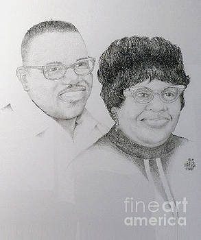 Mr and Mrs Givens by Bill Leavell
