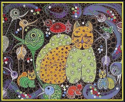 Mrs Bumbleberry von Cattiwumpus by Kathleen Bellows