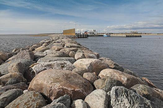 Munalaiu Harbour In Estonia. The View by Jaak Nilson